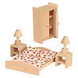 Puppenhausmöbel Schlafzimmer Holz