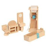 Puppenhausmöbel Badezimmer Holz