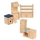 Puppenhausmöbel Küche Holz