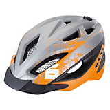 Fahrradhelm Gekko Grey Orange Matt
