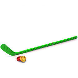 Набор Юный хоккеист (1 клюшка + 1 шайба), NORDPLAST