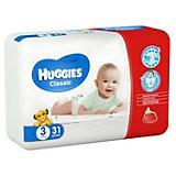 Подгузники Huggies Classic (3) Econom Pack 4-9 кг, 31 шт.