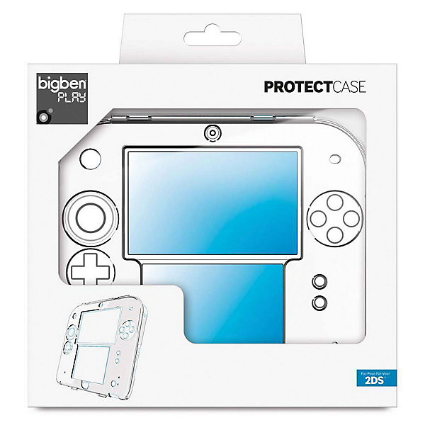 2DS Polycarbonat Case (crystal)