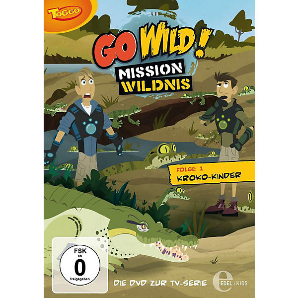 DVD Go Wild-Mission Wildnis 01-Kroko-Kinder