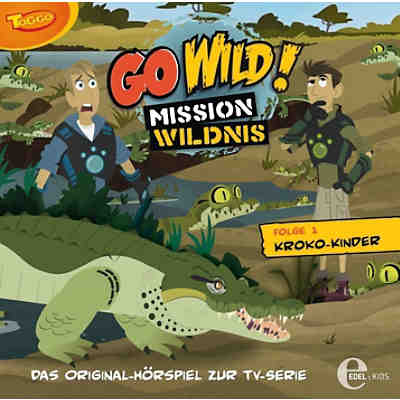 CD Go Wild 01 - Kroko Kinder