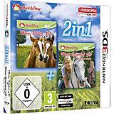 3DS 2 in 1: Mein Fohlen 3D + Mein Reiterhof 3D Rivalen