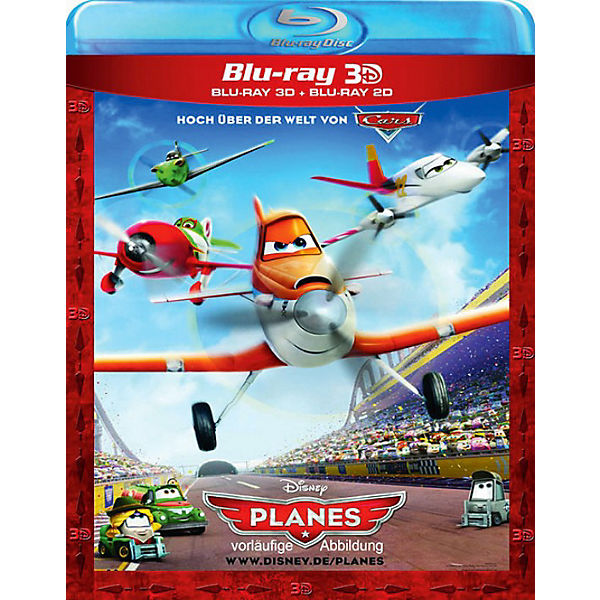 BLU-RAY Planes Superset (3D+ 2D Version)