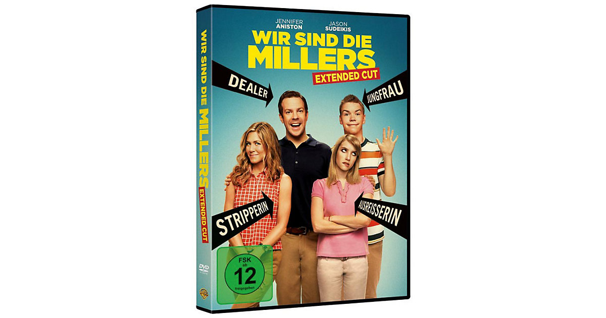 DVD Wir sind die Millers