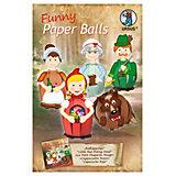 Lustige Paper Balls Rotkäppchen