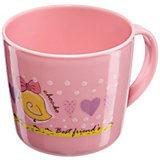 Кружка, Happy Baby, розовый