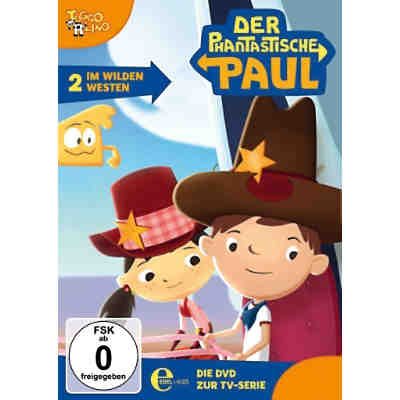 DVD Der Phantastische Paul 02 - Im Wilden wilden Westen