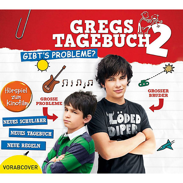 CD Gregs Tagebuch 02 - Gibt's Probleme?