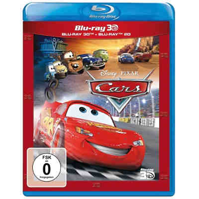 BLU-RAY Disney's - Cars (3D Vers.)