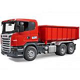 Самосвал-контейнеровоз Scania, Bruder