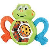 Погремушка-прорезыватель «Веселый лягушонок» FROGUS Happy Baby