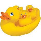 """Набор ПВХ-игрушек для ванной """"Веселая семейка"""" LUCKY DUCKY Happy Baby"""