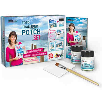 HOBBY LINE Foto Transfer Potch Set