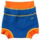 SPEEDO Baby Windel-Badehose mit UV-Schutz, blau