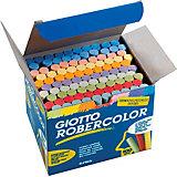 GIOTTO Robercolor Tafelkreide farbig, 100 Stück