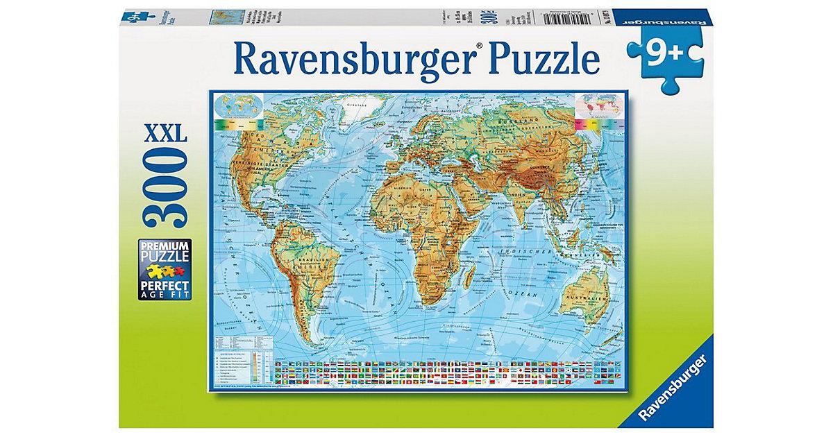 Puzzle 300 Teile Politische Weltkarte