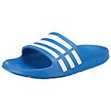 adidas Performance Kinder Badeschuhe Duramo Slide, blau
