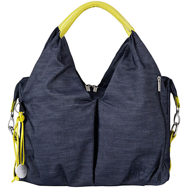 Wickeltasche Greenlabel, Neckline Bag, Denim blue