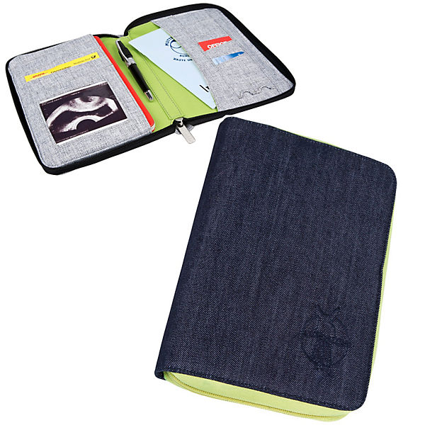 Mum's Organizer, Document Pouch, Greenlabel, Denim blue