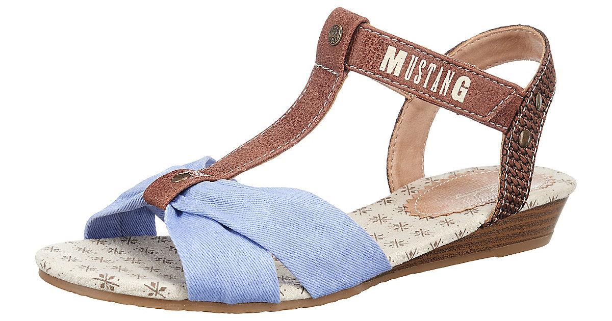 Kinder Sandalen blau Gr. 37 Mädchen Kinder