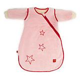 Schlafsack Star Sidezip, mit abnehmbaren Ärmeln, rosa
