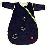 Schlafsack Star Sidezip, mit abnehmbaren Ärmeln, dunkelblau