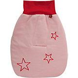 Strampelsack Star, mit Gurtschlitz, rosa
