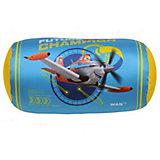 Подушка антистресс валик Самолеты 18*35, арт. 52765, Small Toys, голубой