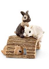 Schleich Farmlife: 13748 Kaninchenjungen, spielend