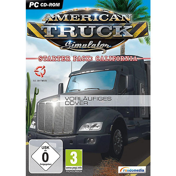 PC American Truck Simulator - Starter Pack California