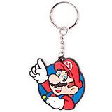 Nintendo Schlüsselanhänger  - Mario (rund)
