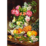 """Пазл """"Розы в вазе"""", 1500 деталей, Castorland"""