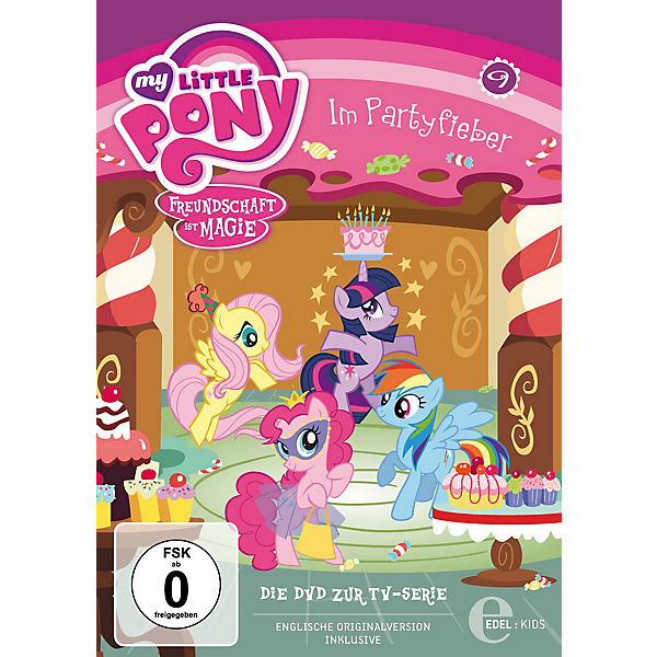 DVD My Little Pony 09 - Im Partyfieber