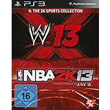 PS3 NBA 2K13 & WWE 13