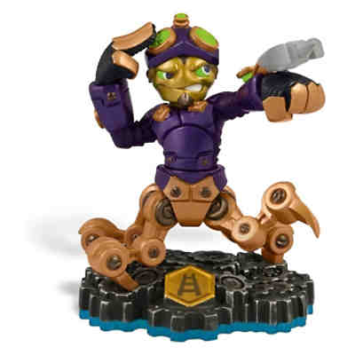 Skylanders Swap Force Charakter Spy Rise