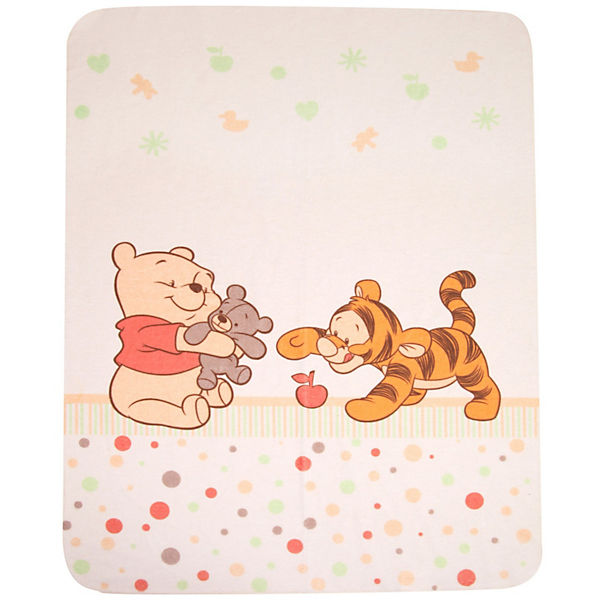 Babydecke Baby Pooh and Friends, 75 x 90 cm