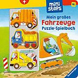 ministeps: Mein erstes Fahrzeuge Puzzle-Spielbuch