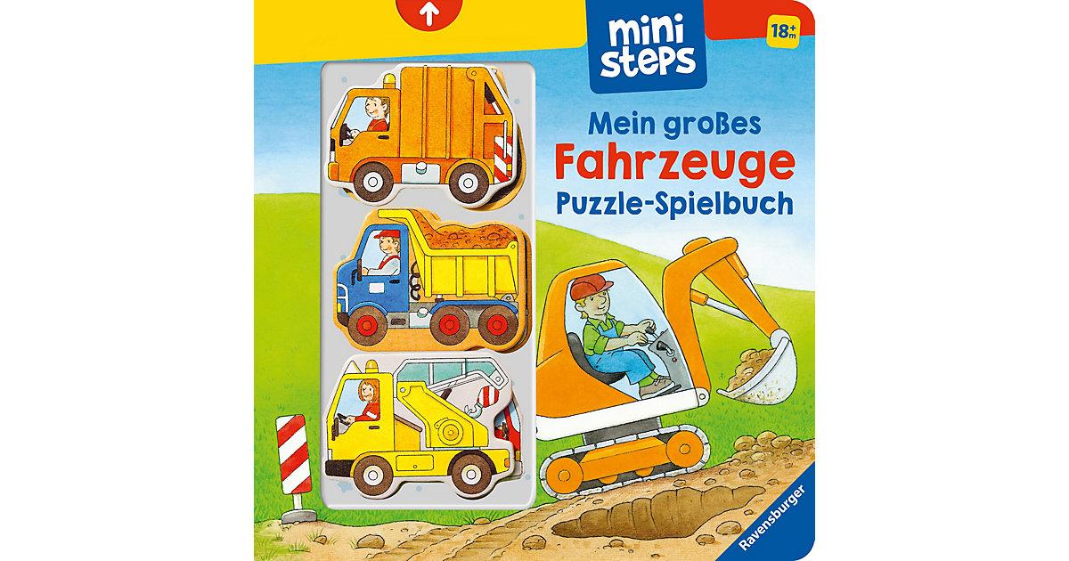 Buch - ministeps: Mein erstes Fahrzeuge Puzzle-Spielbuch