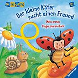 ministeps: Mein erstes Fingerspuren-Buch: Der kleine Käfer sucht einen Freund