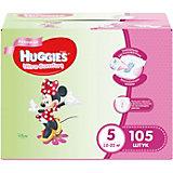Подгузники Huggies Ultra Comfort для девочек Disney Box (5) 12-22 кг, 105 шт. (35х3)