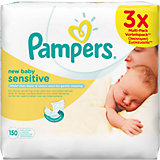 PAMPERS Feuchttücher New Baby Sensitive Sparpack 3x50 Stk.