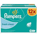 PAMPERS Feuchttücher Fresh Clean Vorteilspack Giga 12x64 Stk.