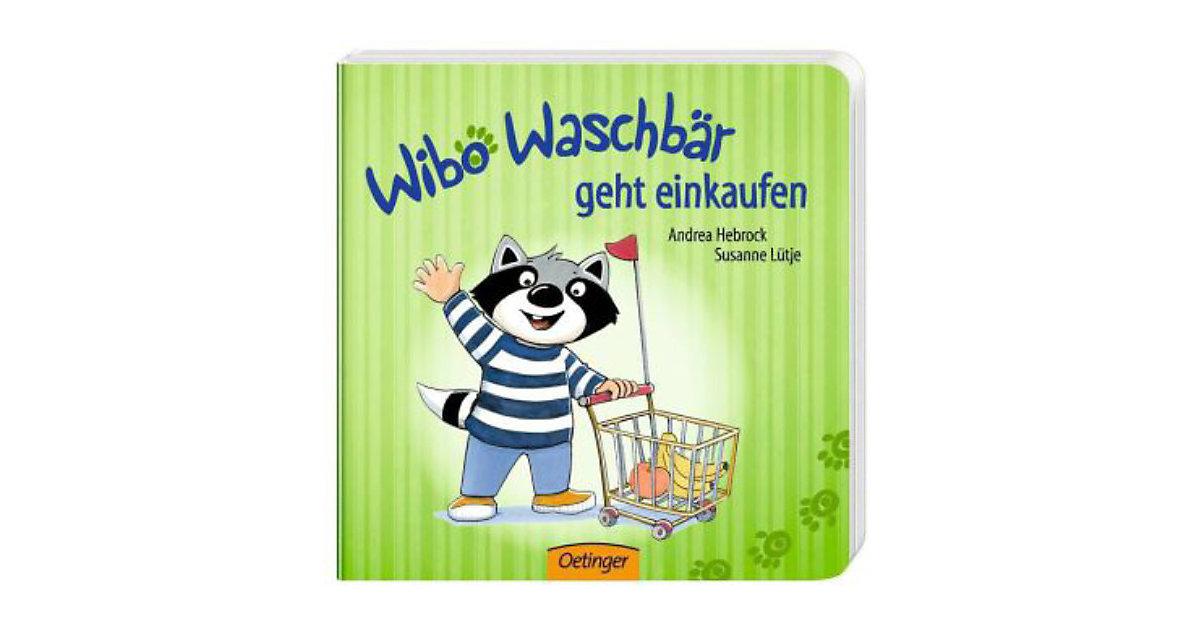 Buch - Wibo Waschbär geht einkaufen
