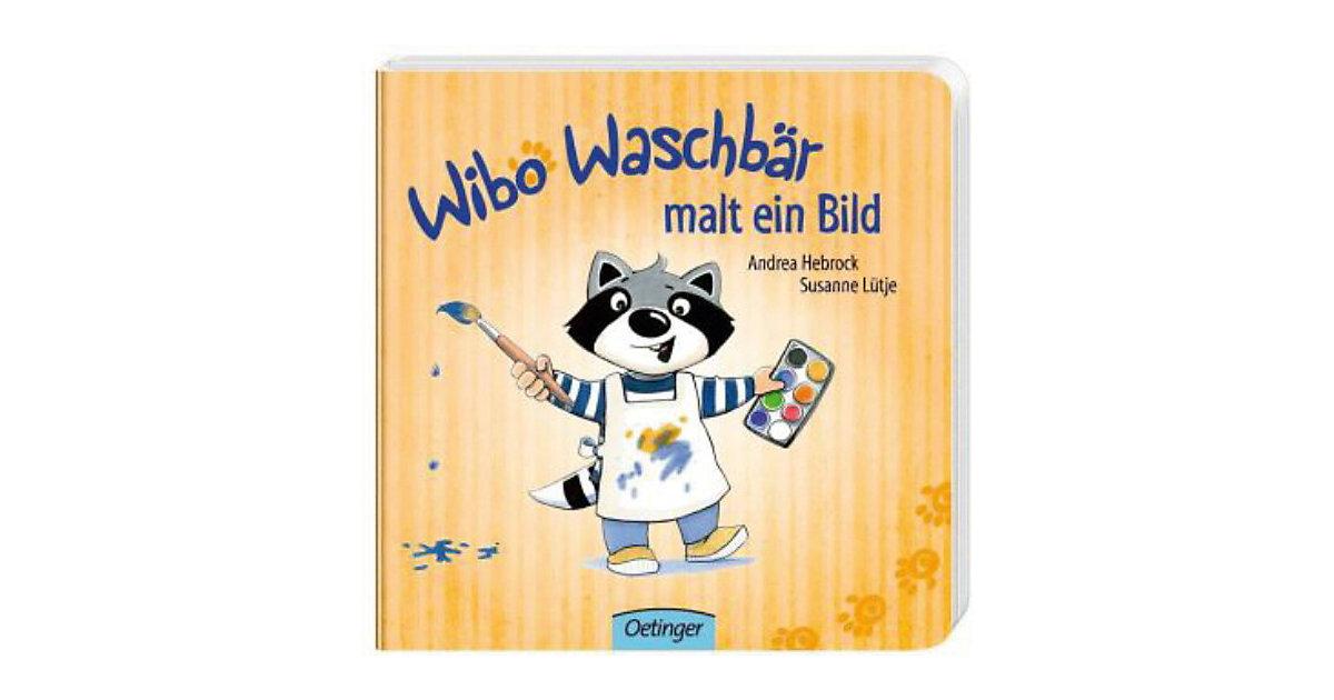 Buch - Wibo Waschbär malt ein Bild