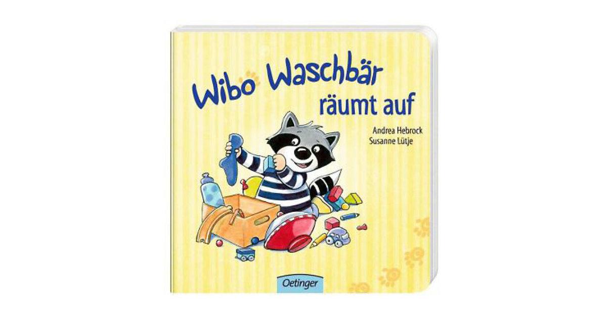 Buch - Wibo Waschbär räumt auf