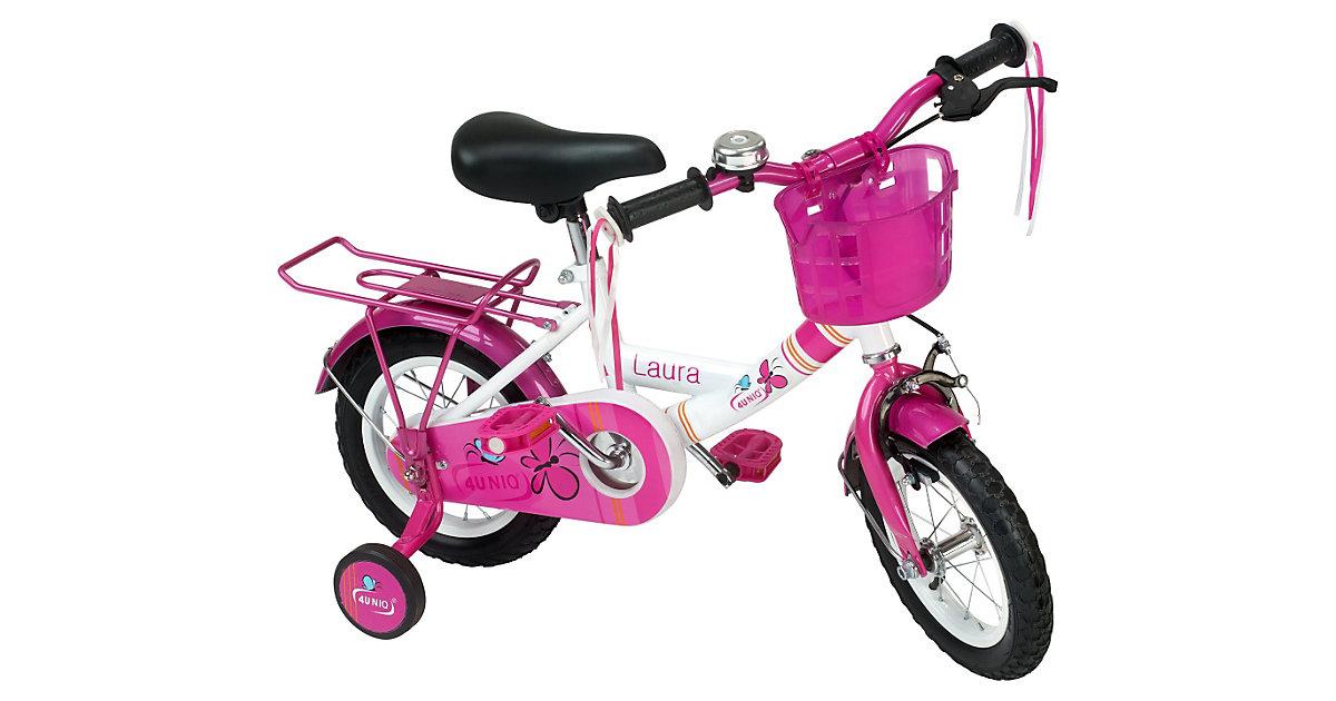 Kinderfahrrad Laura 12 Zoll pink